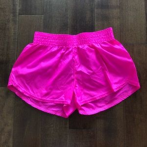 Soffe neon pink shorts